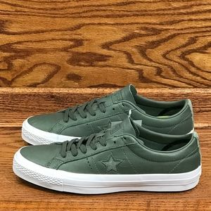 Converse One Star Ox Olive Submarine White Black
